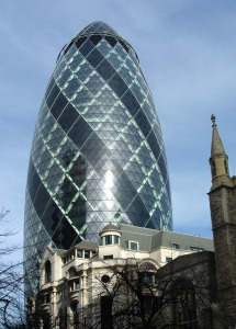 """Gherkin"" Building, London"
